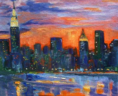 manhattansunset